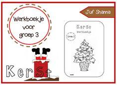 Groep 3 kerst werkboekje van Juf Shanna