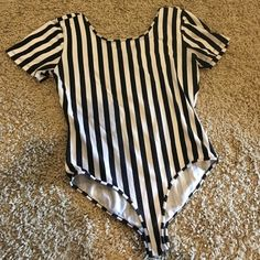 Striped one piece Used forever 21 one piece. Forever 21 Other