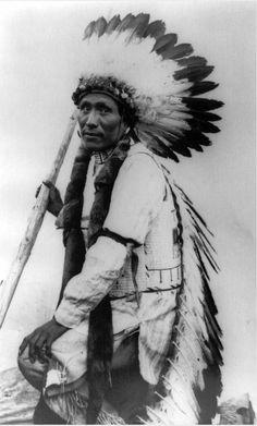 Paul Bear , robe Oglala Sioux tribe south Dakota