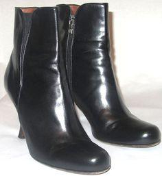 Donald Pliner Black Boots Sz 8
