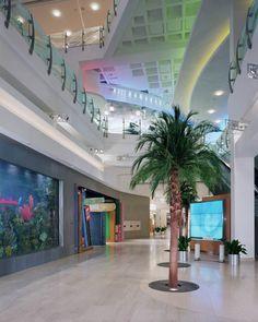 Cerritos Library Interior, entrance
