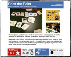 Pass the Paint by Franklin Kenter and Jeremy Commandeur