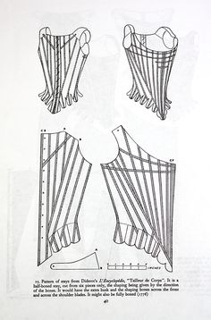 The Shweshwe Corset Part 2: The Pattern