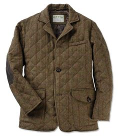 Just found this Quilted Tweed Jacket for Men - Quilted Tweed Jacket on Orvis.com!