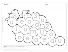 actividades para preescolar vocales - Buscar con Google