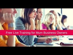 Are you ready to get a clear, focused plan in place for **We've made it our business mission to be the training programme for Mum start ups in the w. Business Mission, Free Training, Training Programs, Getting Things Done, How To Get, Live, Youtube, Workout Programs, Get Stuff Done