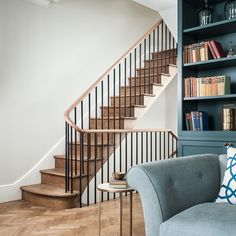 Debnam House — Jo Cowen Architects on Amazing Stairs Ideas 1196 Entryway Stairs, House Stairs, Dublin House, Victoria House, Traditional Staircase, Stair Railing, Staircase Design, Interior Design Inspiration, Stairways