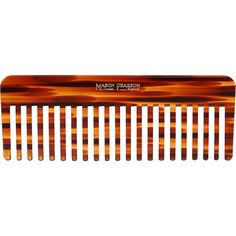 Mason Pearson Rake Comb ($35) ❤ liked on Polyvore featuring beauty products, haircare, hair styling tools, brushes & combs, beauty, beauty prod., filler, colorless, tortoise shell comb y tortoise shell hair combs