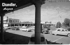 Downtown Chandler circa 1957  Been here many times through the years.