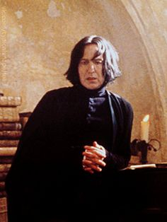 """2001 - Alan Rickman as Professor Severus Snape in """"Harry Potter and the Sorcerer's Stone."""""""
