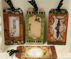 handmade halloween gift tags - Bing Images