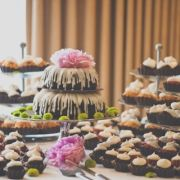 nothing bundt cakes = mouth-gasmic and affordable. Wedding Cupcake Table, Wedding Cupcakes, Wedding 2017, Fall Wedding, Rustic Wedding, October Wedding, Wedding Cake Prices, Small Wedding Cakes, Nothing Bundt Cakes