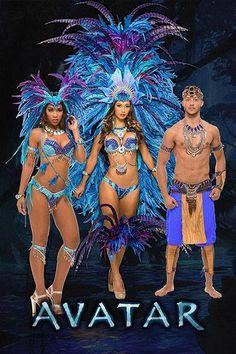 Trinidad Carnival 2015, Fantasy, Blockbuster,  Avatar