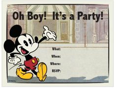 624 Best Mickey Mouse Printables Images