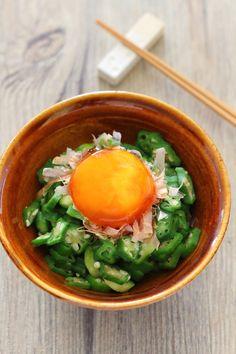 おくらの卵黄漬けのっけ by 小春 「写真がきれい」×「つくりやすい」×「美味しい」お料理と出会えるレシピサイト「Nadia | ナディア」プロの料理を無料で検索。実用的な節約簡単レシピからおもてなしレシピまで。有名レシピブロガーの料理動画も満載!お気に入りのレシピが保存できるSNS。