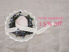 "Hyvää pääsiäistä! 15% alennus kaikista Insjön tuotteista! Käytä koodia ""EASTER18"" ostoskorissa.  15% discount on all Insjö products! Use the code ""EASTER18"" at the checkout page of insjo.com.  Valid from 23.3.2018 to 8.4.2018. Spring"