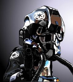 TIE Fighter Pilot by Content-Josho on DeviantArt
