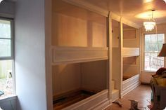 4 built in bunk beds i think the girls would love this too