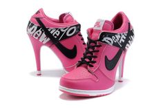 810d9d6e8f9 Nike Dunk SB Low Heels Black Pink I dnt even care tht its pink