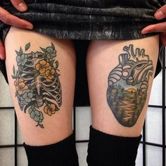 Skin Deep Tales - wainktattoo:   Healed #tattoos by Aaron Ashworth...