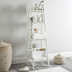 Buy Bathroom Ladder Shelf - from The White Company