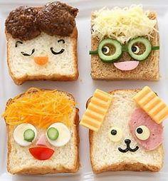 Creativo en la cocina: ideas interesantes para decorar platos, ensaladas y sándwiches | Ama de casa