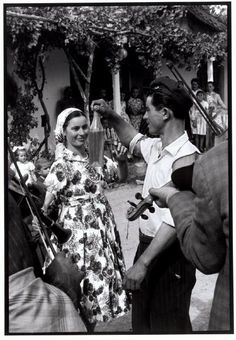 "Dancing at a wedding. ""A Greek Portfolio"" © Costa Manos/Magnum Photos Vintage Wedding Photos, Vintage Pictures, Old Pictures, Old Photos, Greece Photography, Street Photography, Greece Pictures, Greek History, Greek Music"
