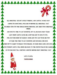 am late, santa first time, on elf on shelf arrival letter template blank
