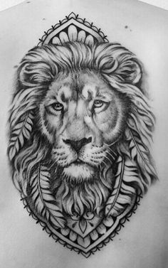 Find your best gift ideas for your family and friends! Daddy Tattoos, Lion Head Tattoos, Mens Lion Tattoo, Leo Tattoos, Animal Tattoos, Body Art Tattoos, Lion Tattoo Design, Tattoo Designs, J Tattoo