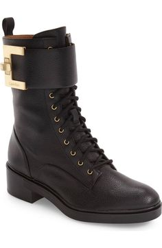 c678e715286608 Main Image - Calvin Klein Skyla Buckle Strap Bootie (Women). Shari Anne ·  Shoes