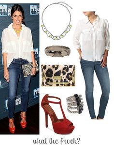 What the Frock? - Affordable Fashion Tips and Trends: Celebrity Look for Less: Nikki Reed Style