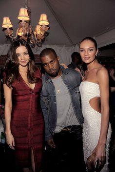 Miranda, Candice & Kanye