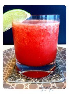 Watermelon-Gin Slushie