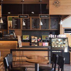 No automatic alt text available. Bakery Interior, Cafe Interior Design, Cafe Design, My Coffee Shop, Coffee Shop Design, Decoration Restaurant, Restaurant Design, Cafe Bistro, Cafe Bar