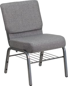 HERCULES Series 21'' Extra Wide Fabric Church Chair with 3.75'' Thick Seat, Book…