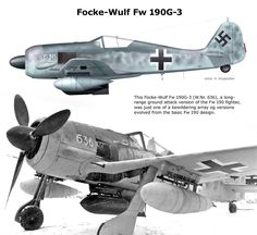Fw 190G-3 Air Fighter, Fighter Pilot, Fighter Jets, Ww2 Aircraft, Fighter Aircraft, Military Aircraft, Luftwaffe, Focke Wulf 190, Old Planes