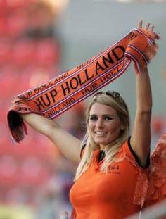 Dutch soccer fan