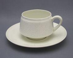 Arabia, Pitsi, Raija Uosikkinen Kitchenware, Tableware, Fika, Teacups, Bone China, Cup And Saucer, Metallica, Finland, Porcelain