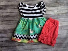 Watermelon Knit Shorties