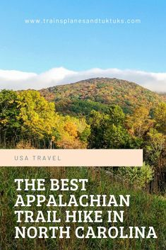Carvers Gap to 19E: The BEST hike on the Appalachian Trail in NC Canada Travel, Travel Usa, Pisgah Forest, Travel Inspiration, Travel Ideas, Travel Tips, Appalachian Trail, Best Hikes, Road Trip Usa