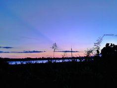 sunset in tenggarong