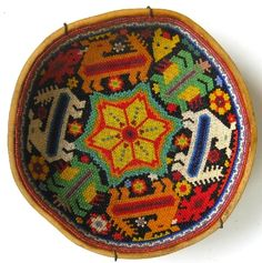 Huichol Beaded Gourd...I am happy to own two of these!