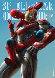 Something Marvel? Bit of both! Marvel Comics, Marvel Heroes, Marvel Avengers, Mafex Spiderman, Parker Spiderman, Digital Foto, Marvel Actors, Iron Spider, Amazing Spider
