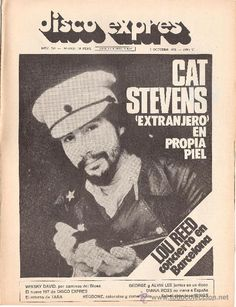 DISCO EXPRES Nº 243 (05-10-73) - CAT STEVENS / WHISKY DAVID / REDBONE - EX (Música - Revistas, Manuales y Cursos)