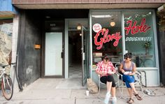 Introducing: Glory Hole Doughnuts, Ashley Jacot De Boinod's new crowdfunded Parkdale shop Doughnut Holes, Her Brother, Film Industry, Doughnuts, Canada Eh, Shopping, Toronto, Restaurants, Shops
