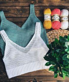 Crochet Shrug Pattern, Crochet Bra, Crochet Shirt, Crochet Crop Top, Crochet Woman, Crochet Clothes, Crochet Stitches, Crochet Patterns, Crochet Summer Tops