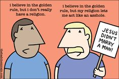 The Comics Section: Religion in Schools, Resistance, and The Golden Rule