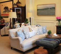 My sofa - the Normandy from Rooms & Gardens in Santa Barbara