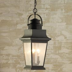 Classical Refinement Outdoor Hanging Lantern