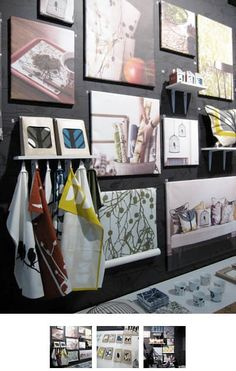 We've long been fans of Trine Anderson's colorful, retro designs for Ferm Living, and when we passed Ferm's booth at ICFF, there was certainly a lot to love. But our favorites were definitely the 100% organic tea towels...